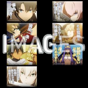 【2021/11/26発売】劇場版 Fate/Grand Order -神聖円卓領域キャメロット- でかセリフ缶バッジ 全7種