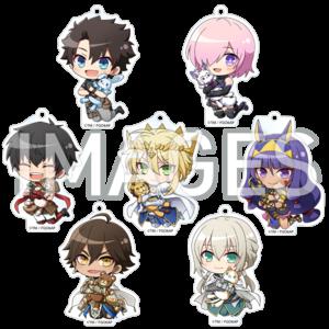 【2021/11/26発売】劇場版 Fate/Grand Order -神聖円卓領域キャメロット- だきしめっ!アクリルキーチェーン 全7種
