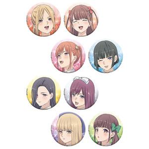 【2020/4/10発売】推しが武道館いってくれたら死ぬ キラ缶バッジコレクション 全8種