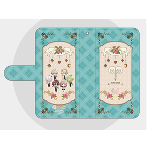 【Lサイズ】オトメイトガーデンコラボイラスト 手帳型スマートフォンカバー2018 AMNESIA