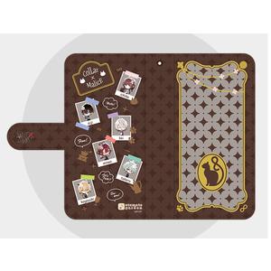【Lサイズ】オトメイトガーデンコラボイラスト 手帳型スマートフォンカバー2018 Collar×Malice