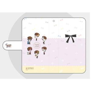 【Lサイズ】オトメイトガーデンコラボイラスト 手帳型スマートフォンカバー2018 CLOCK ZERO
