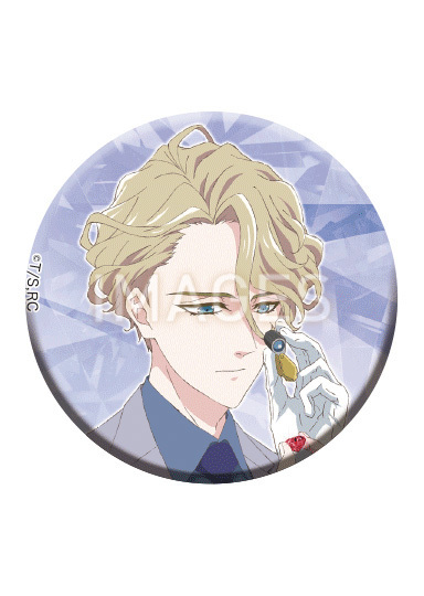 【2020/6/19発売】宝石商リチャード氏の謎鑑定 キラ缶バッジコレクション 全6種
