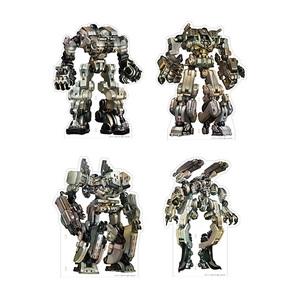 十三機兵防衛圏 アクリルビッグ機兵フィギュア 全4種