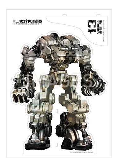 【2020/10/13再販売】十三機兵防衛圏 アクリルビッグ機兵フィギュア 全4種
