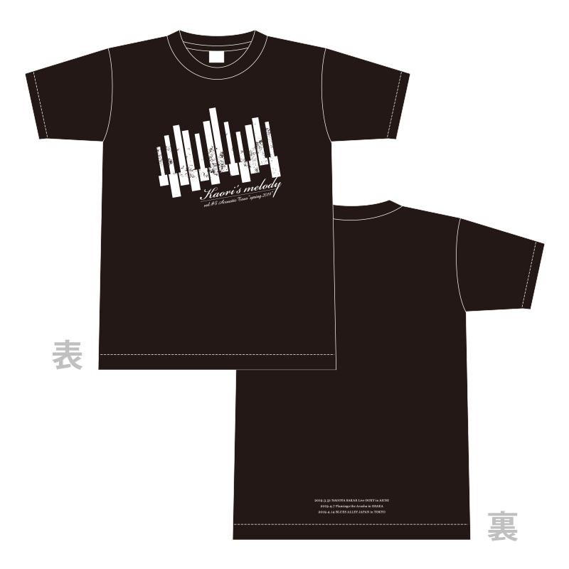 """Kaori's melody vol.#5 Acoustic Tour """"spring 2019"""" Tシャツ"""