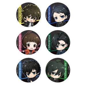 【2020/7/8発売】PSYCHO-PASS サイコパス 3 キラ缶バッジ 全6種