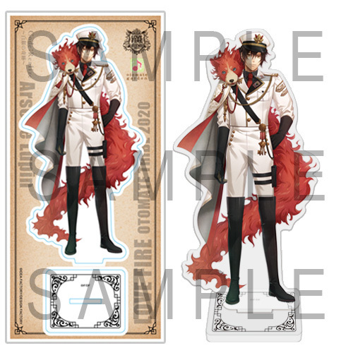 LOVE FIRE!! from OTOMATE TRIBE アクリルスタンド ルパン(Code:Realize)