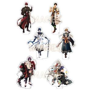 【2021/3/19再販】オランピアソワレ アクリルビッグキャラクターフィギュア 全6種