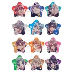 【2020/8/28発売】Starry☆Sky 星型缶バッジ 全12種