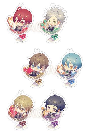 Starry☆Sky ちゃぽんっ!アクリルストラップコレクション Spring&Summer ver.  全6種