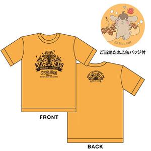 きるめすご当地Tシャツ(ご当地たれこ缶バッジ付き)【Ver.大阪】