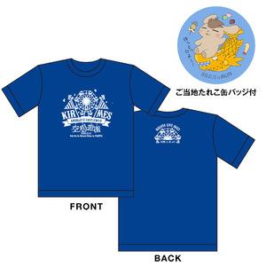きるめすご当地Tシャツ(ご当地たれこ缶バッジ付き)【Ver.名古屋】