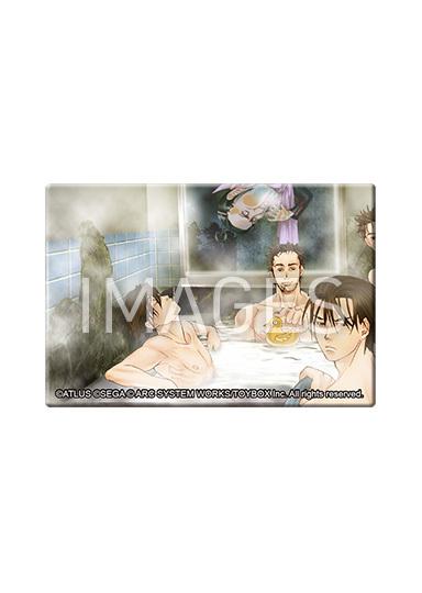 九龍妖魔學園紀 ORIGIN OF ADVENTURE スクエア缶バッジ 全12種