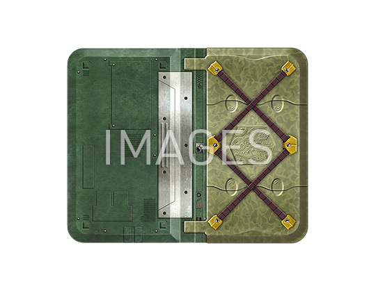 【2021/4/8再販】九龍妖魔學園紀 ORIGIN OF ADVENTURE H.A.N.T風手帳型スマートフォンケース 全1種