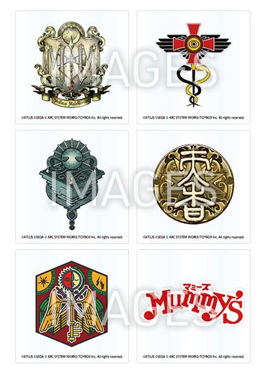 九龍妖魔學園紀 ORIGIN OF ADVENTURE アクリルコースター 全6種