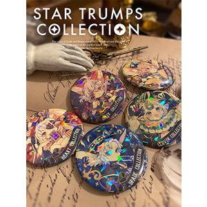 【2021/2月中旬頃発送予定】トレーディングホログラム缶バッジ(等身)/STAR TRUMPS COLLECTION 全5種