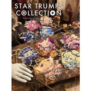 【2021/2月中旬頃発送予定】アクリルキーホルダー/STAR TRUMPS COLLECTION 全9種