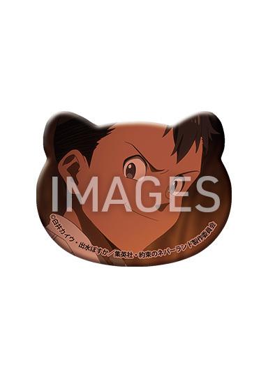 【2021/5/28発売】約束のネバーランド ケモミミ缶バッジ 全6種